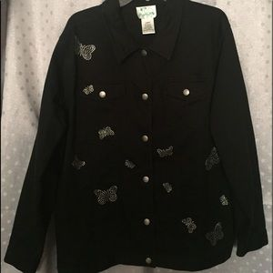 Black Quacker factory jacket